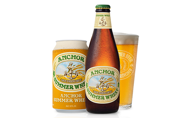 The golden goodness that is Anchor Summer Wheat. Photo: Courtesy of Anchor Brewing