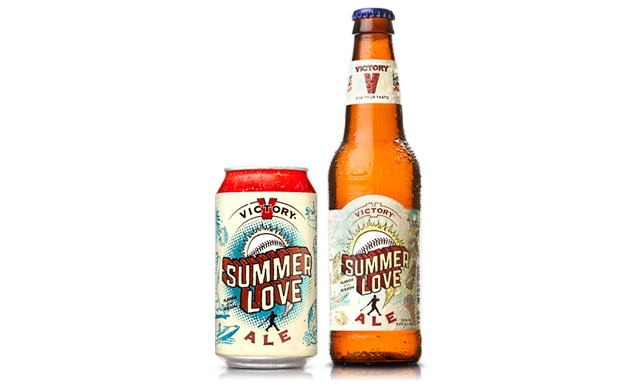 Nothing sums up summer like Summer Love Ale. Photo: Courtesy of Victory Brewing