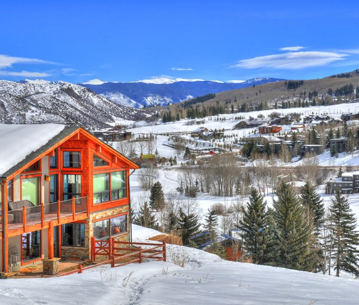 Aspen/Snowmass ski resort in Colorado