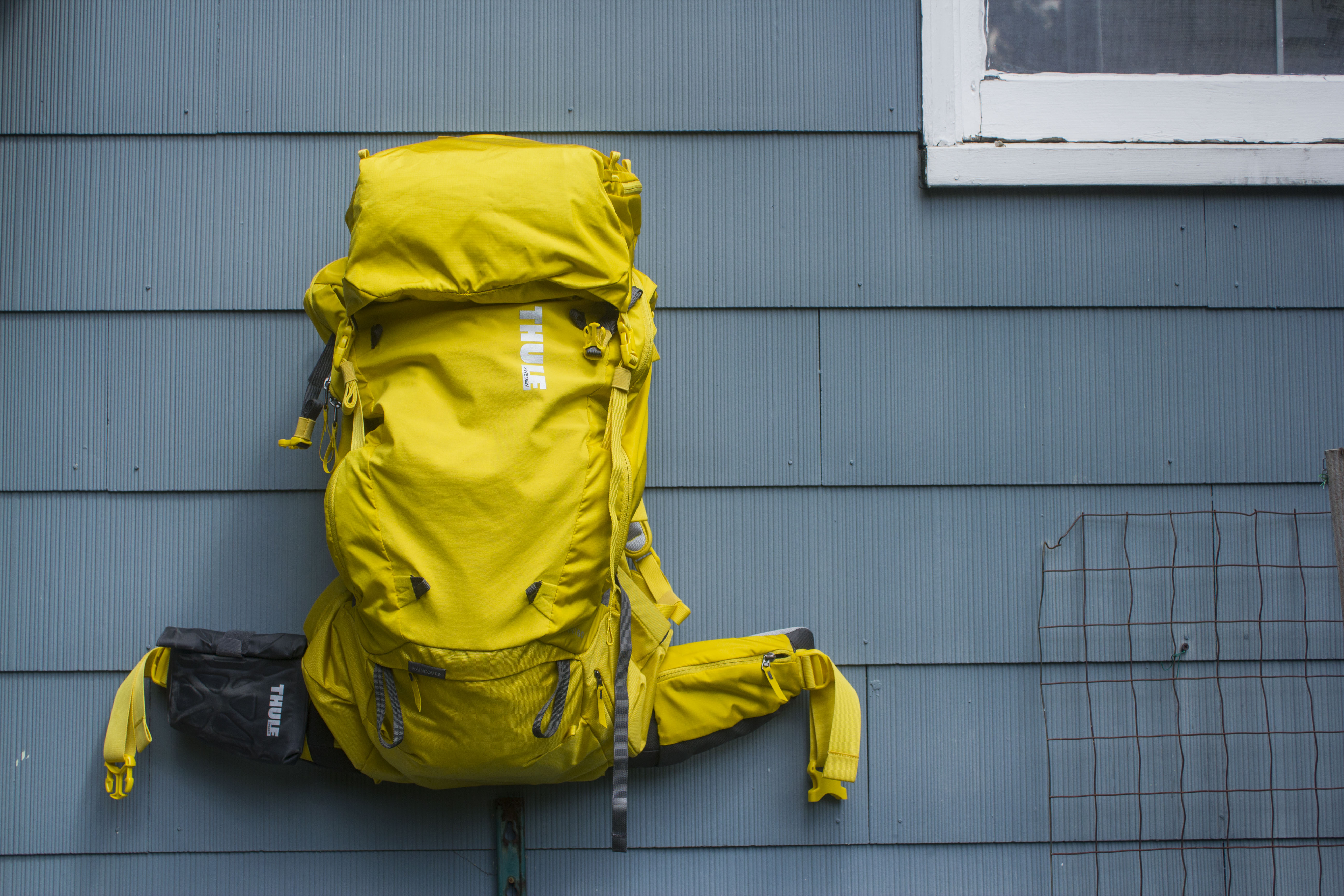 Rock it like a backpack or take it on the road for a month, the Thule ? is up for the challenge. PHOTO: Kade Krichko