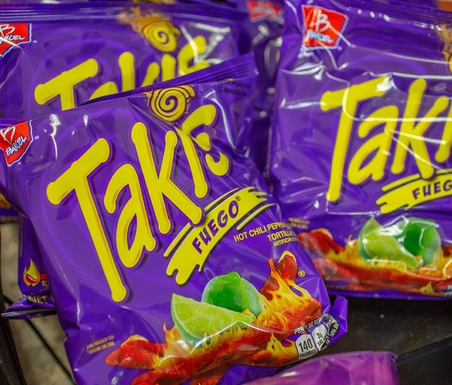 Barcel Takis from Mexico