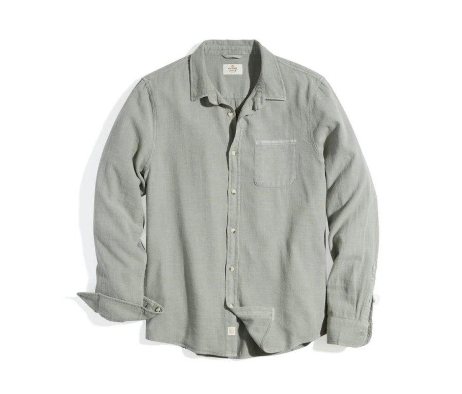 Marine Layer Classic Fit Selvage Shirt