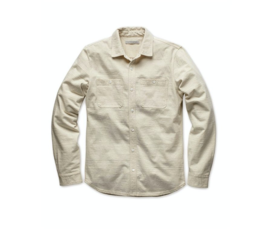 Outerknown The New Denim Project Knit Shirt button-down shirts