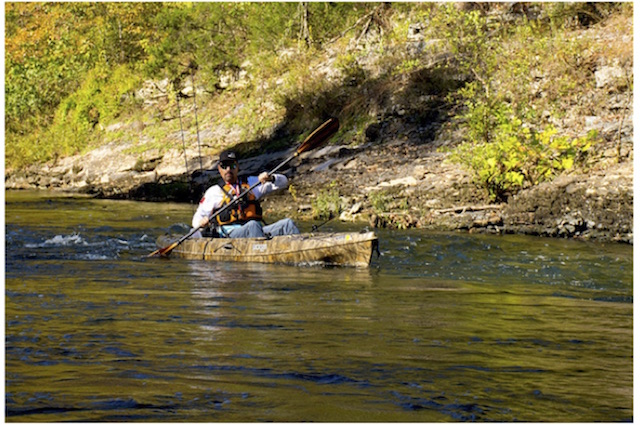 A deep stroke that raises the opposite elbow up is a sign of the high-paddling technique, explains Jackson Kayak Fishing Team member Roberto Briones. Photo Roberto Briones