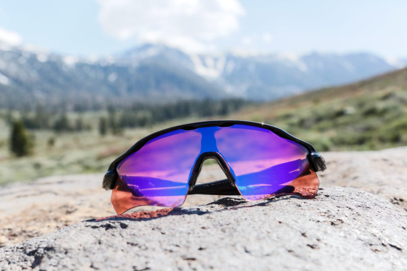 The engineering team at Oakley optimized the Prizm Trail lens to make your runs more relaxed and help you keep your footing more secure. Photo: Courtesy of Oakley