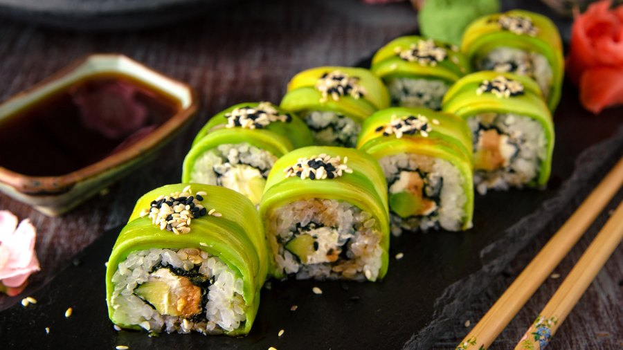 healthy sushi; healthiest sushi