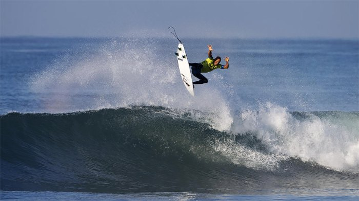 Kelly Slater has won more than a handful of pro contests at Lower Trestles and always puts on a show. Photo: Courtesy of World Surf League