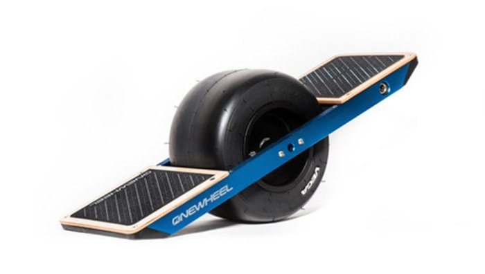 Behold...the almighty OneWheel. Photo courtesy of OneWheel