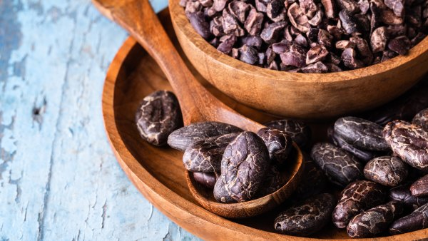 cacao beans, one of the healthiest nuts and seeds