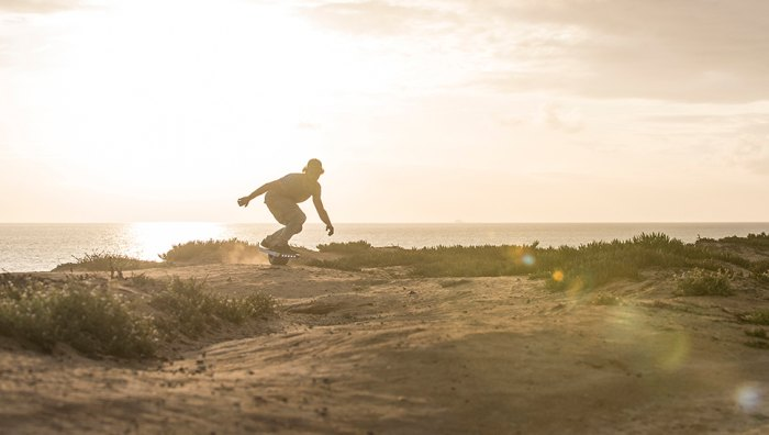 Can your Segway do this? Didn't think so. Photo: Aaron Black-Schmidt