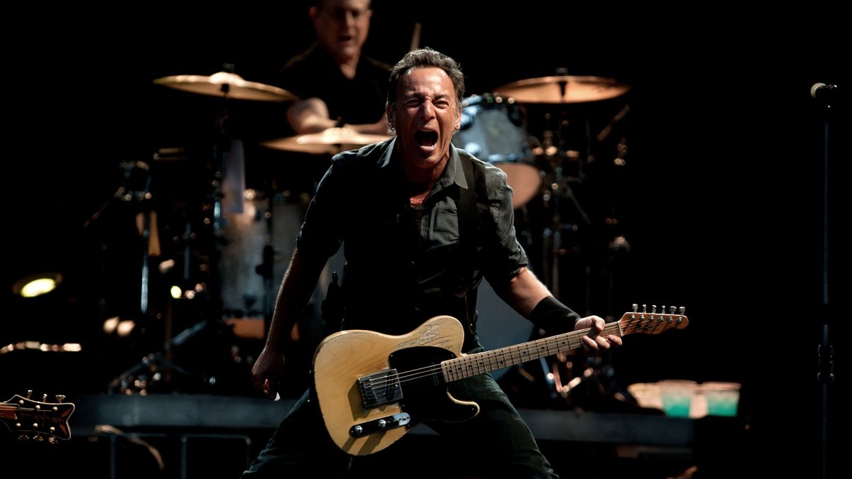 The Story of Bruce Springsteen's No.1 Guitar