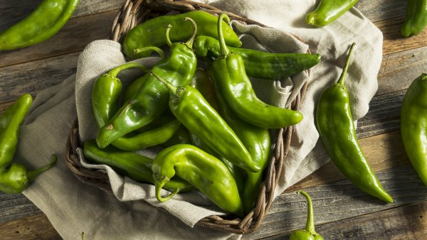 green chili peppers; healthy foods; reset foods