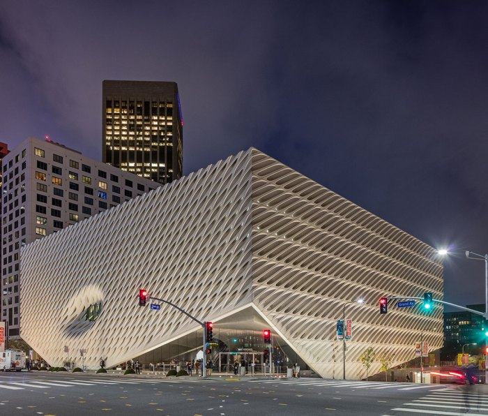 The Broad at twilight