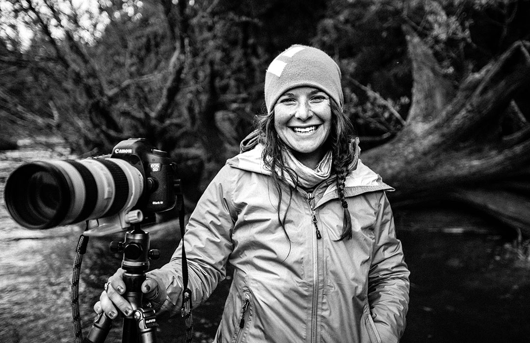 Becca Skinner is based in Bozeman, Montana, but she's constantly traveling to shoot stories for Orvis, Patagonia, and National Geographic. Photo: Sara Menzies