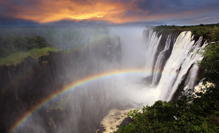 biggest waterfall in the world