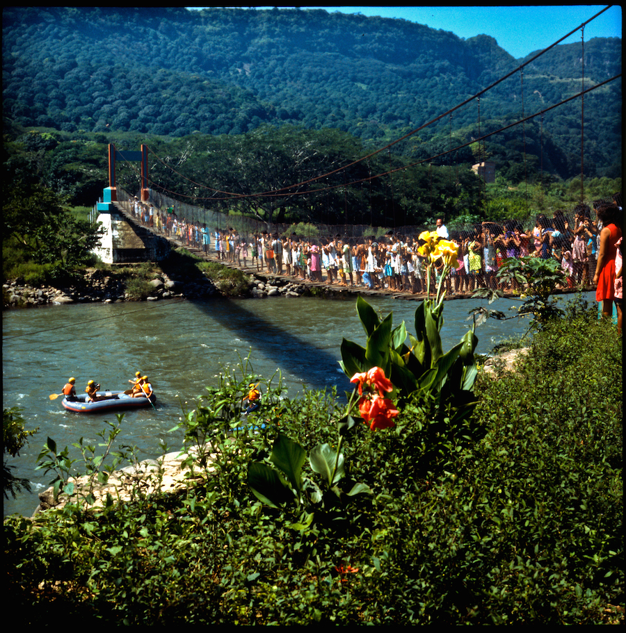 The Canoandes draw a crowd on the Rio Pescados, now Mexico's most popular whitewater river. Photo by Zbigniew Bzdak Photo by Zbigniew Bzdak �