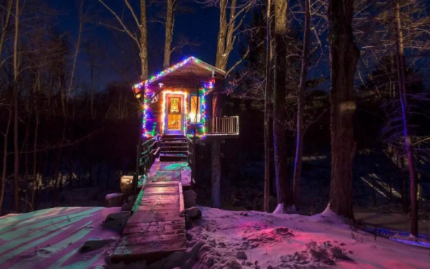 There's something so cool about treehouses. Photo: Courtesy of Harrison