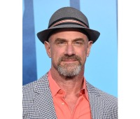 "Christopher Meloni at the ""Godzilla: King of the Monsters"" premiere in May 2019"