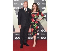 Sir Patrick Stewart arriving for the GQ Men of the Year Awards 2019
