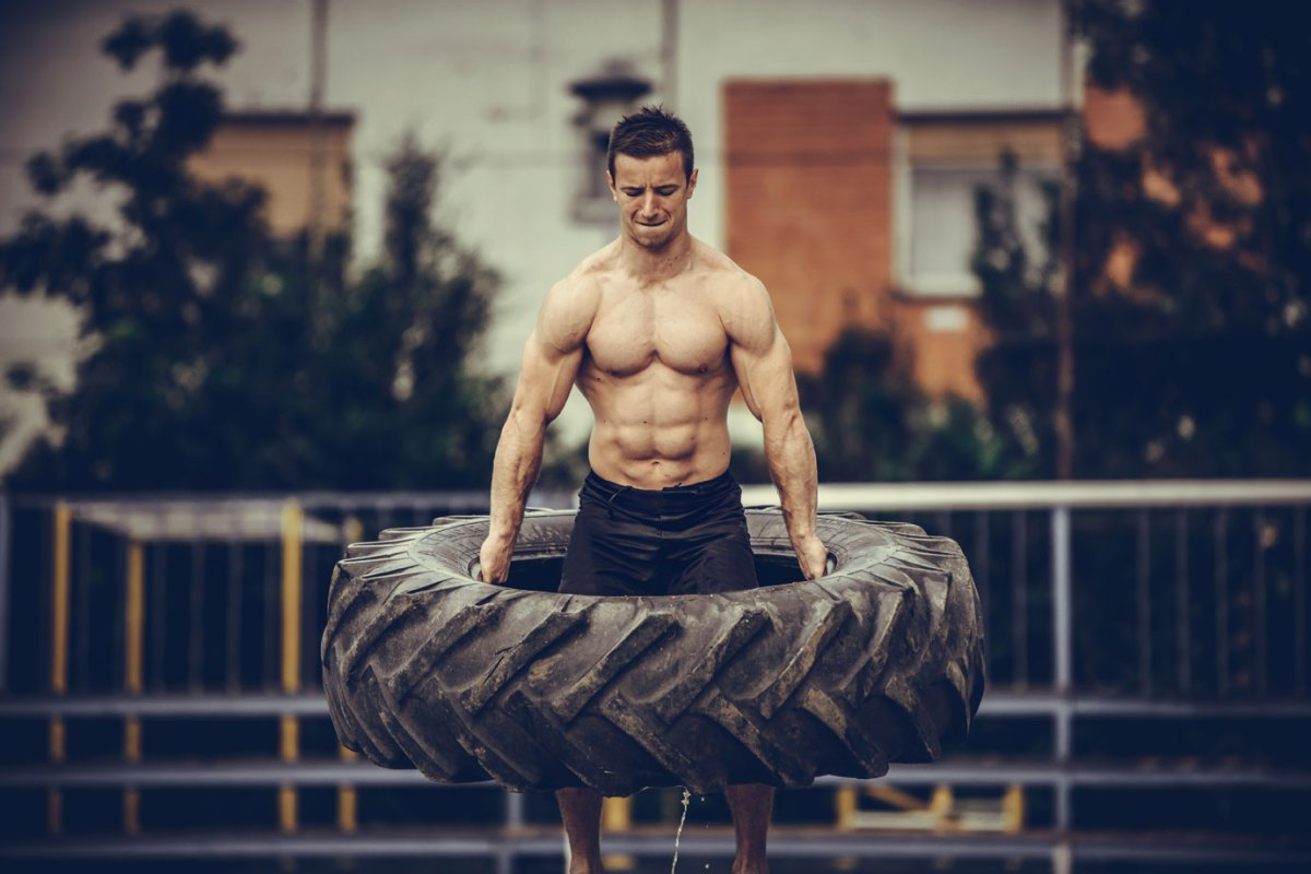 The Total Body Tire Workout That Will Hammer Every Muscle You Have