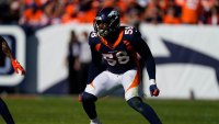 Titans Broncos Football, Denver, USA - 13 Oct 2019 Denver Broncos outside linebacker Von Miller during the first half of an NFL football game against the Tennessee Titans, in Denver 13 Oct 2019 Image ID: 10443214eh Featured in: Titans Broncos Football, Denver, USA - 13 Oct 2019 Photo Credit: Jack Dempsey/AP/Shutterstock