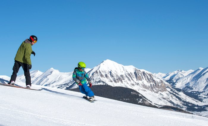 If it's the little bump 20 minutes from your house with man made snow or Crested Butte, a lesson is always worth it. Photo Courtesy Tom Stillo/Crested Butte Mountain Resort.