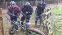 fat bike electric fence