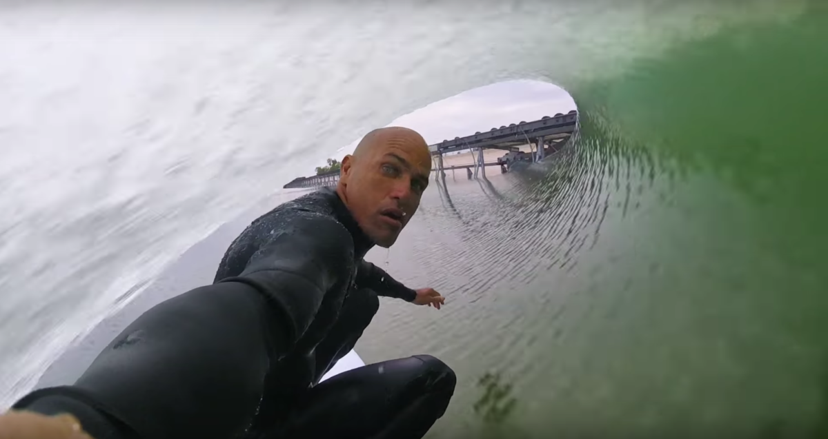 Kelly Slater Wave Pool video
