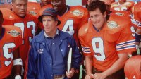 Adam Sandler And Henry Winkler Star In The New Movie 'Waterboy.' (Photo By Getty Images)