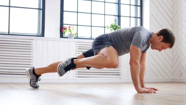 Mountain climbers at home