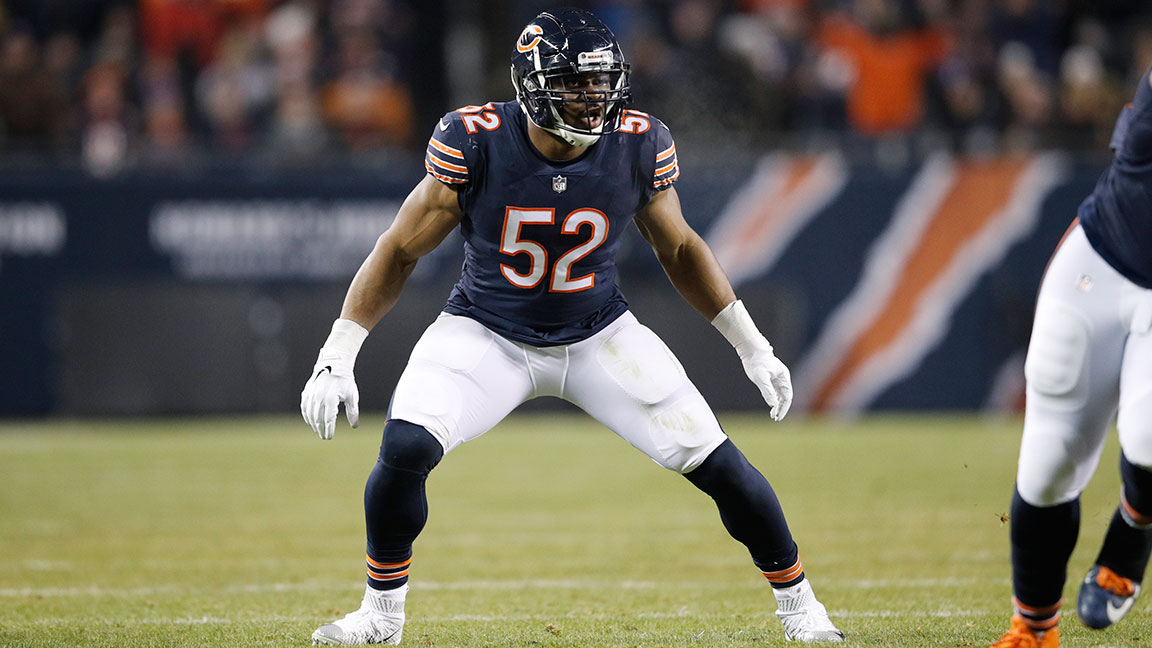 buy popular e6d92 6e50c Here's How Khalil Mack Trains to Dominate the NFL