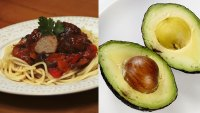 Food and Drink Spaghetti and Meatballs 2013, VARIOUS Avocado, halved 2015