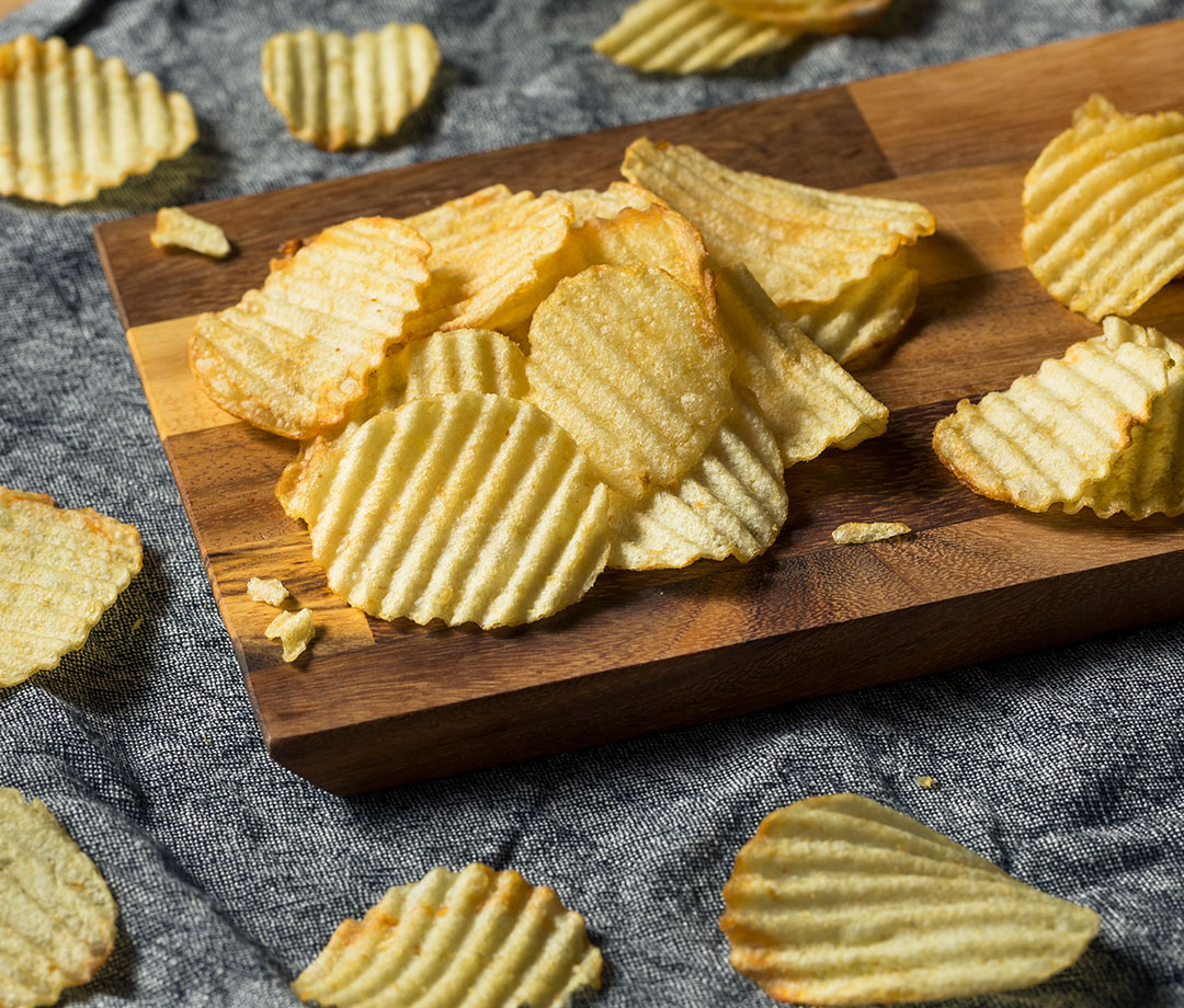 wavy potato chips, worst post-workout foods