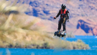 hoverboard video flyboard air franky zapata