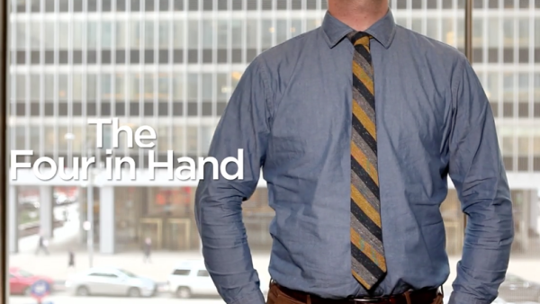 Four-in-Hand Tie Knot