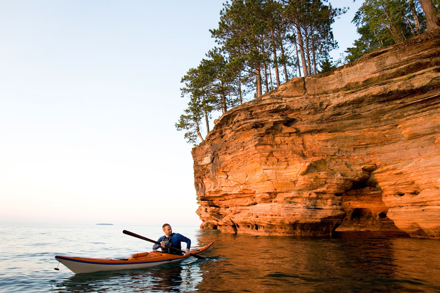Sea Caves at Apostle Islands National Lakeshore