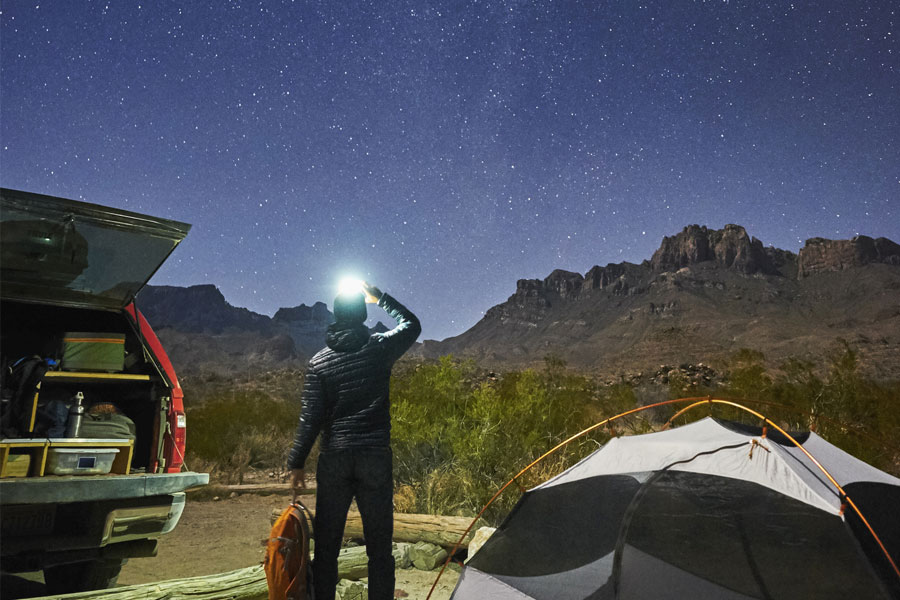 Stargazing at Big Bend National Park