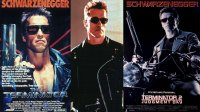 The Terminator - 1984 Arnold Schwarzenegger, Terminator 2: Judgement Day, Arnold Schwarzenegger, , Terminator 2 - Judgement Day (1991)