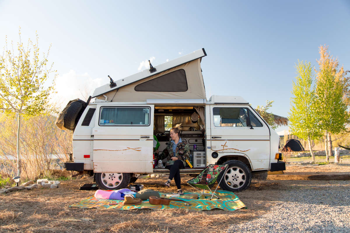 ghost town campsites
