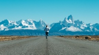 Running through Patagonia
