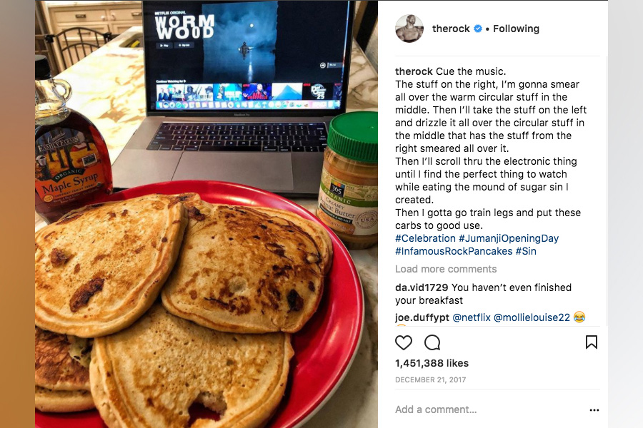 The Rock's Cheat Meals