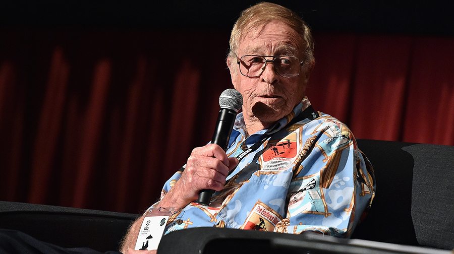 Film director Bruce Brown speaks onstage during 'The Endless Summer' screening during day 3 of the TCM Classic Film Festival 2016 on April 30, 2016 in Los Angeles, California.