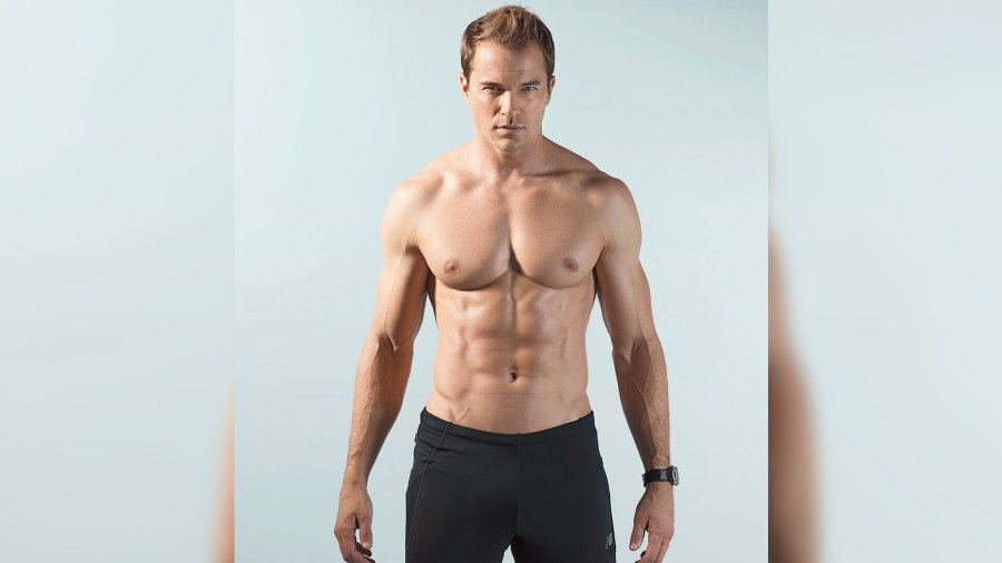 Fit man with low body fat percentage