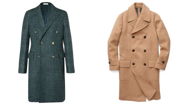 double breasted coats mens