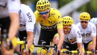 Chris Froome in Stage 21 of Tour de France