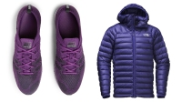 Nike Flyknit Trainers and a down hoodie from The North Face