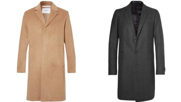 Worn the right way, a men's topcoat can be warm and stylish even in winter's worst.