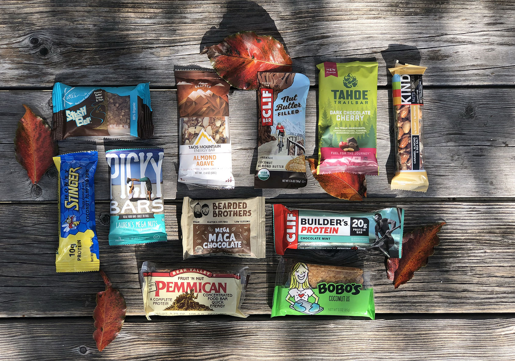 favorite bars from REI