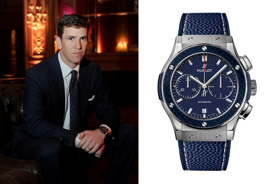 """Eli Manning on His First """"Gatorade Watch"""" and His New ..."""