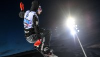 Scotty James of Australia competes during the Men's Snowboard Halfpipe Final on day four of the FIS Freestyle Ski and Snowboard World Championships 2017 on March 11, 2017 in Sierra Nevada, Spain.